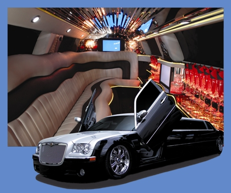 Chrysler Limo With Lamborghini Doors Lasting Impressions