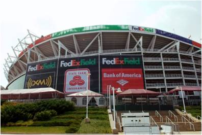 Sporting Events Limousine Service FedEx Field