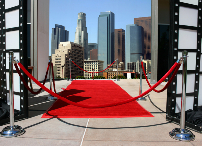 vip service with red carpet treatment