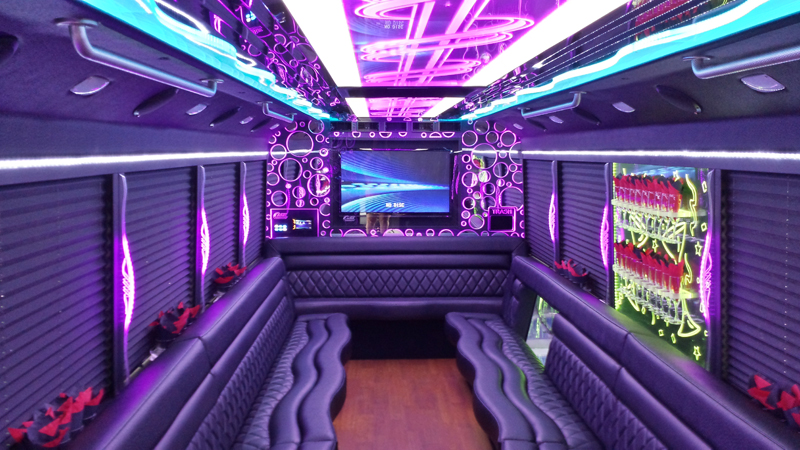 White Limo Party Bus Lasting Impressions