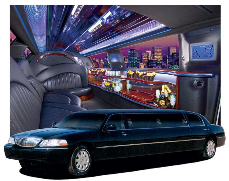 Black Lincoln Icon Limo Lasting Impressions